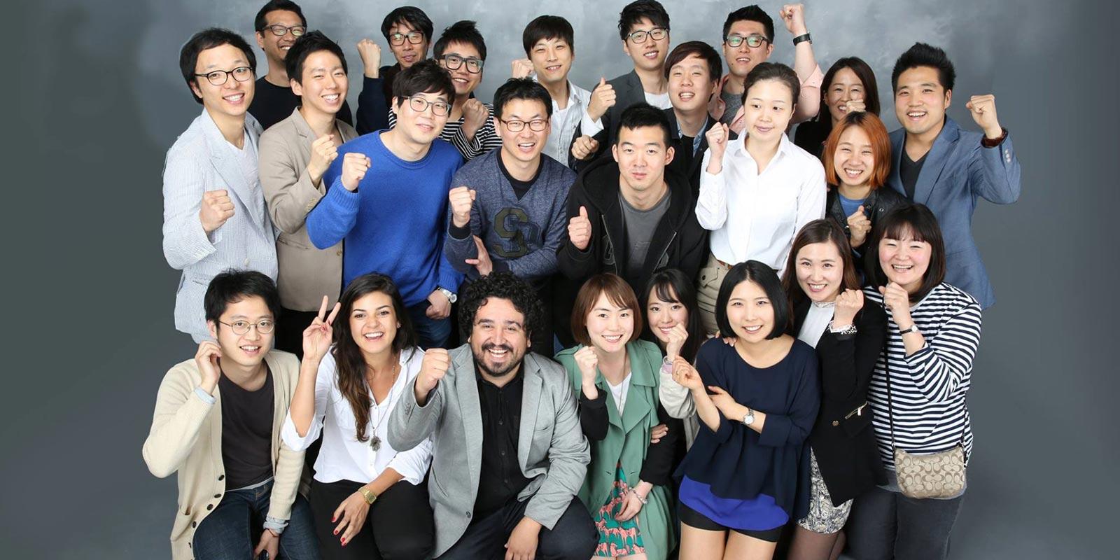 Taller de diseño en Corea del Sur con jóvenes diseñadores para la compañía Kikkerland y Sangsang Madang.